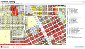 Norman Zoning Map